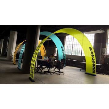 Bannerový oblouk Indoor - reklamní oblouk na akce