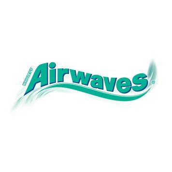 Reklamní kartička s Wrigley's Airwaves