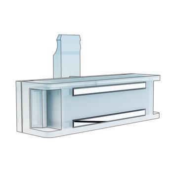 """Magnetický držák horizontální  pro cenovku""""Klick"""""""