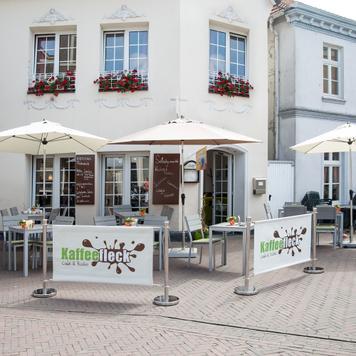 """Banner pro uzavírací stojan """"Café"""""""