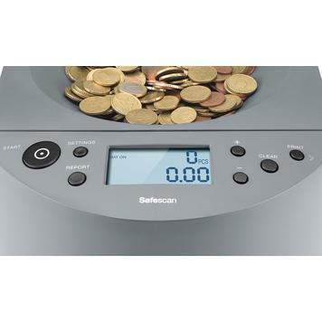 Safescan 1450 počítadlo a třídička mincí