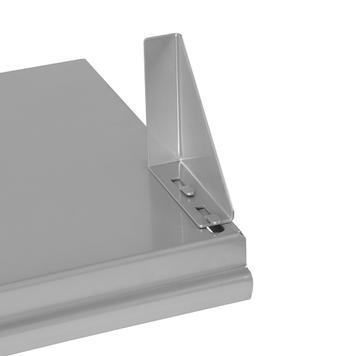 FlexiSlot®-přihrádka se 2 podpěrami