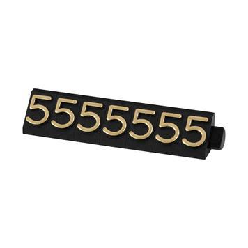 """Kazeta s číslicemi """"Midi Digits"""" - 360 dílků + opěrné dílky"""
